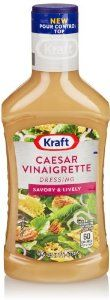 Kraft Caesar Vinaigrette with Parmesan Dressing, 16 Fl Oz - http://www.handygrocery.com/grocery-gourmet-food/kraft-caesar-vinaigrette-with-parmesan-dressing-16-fl-oz-com/