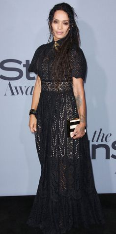 See the Stars on the 2015 InStyle Awards Red Carpet - Lisa Bonet - from InStyle.com
