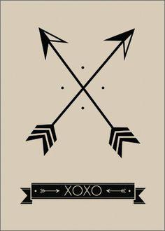 arrows of friendship - tat idea