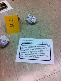 To Engage Them All: Crime Scene In The Classroom!!!!
