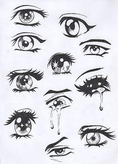 more ways for u to make manga eyes