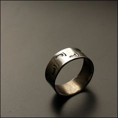 Hey, I found this really awesome Etsy listing at https://www.etsy.com/listing/106086118/footprints-sterling-silver-ring