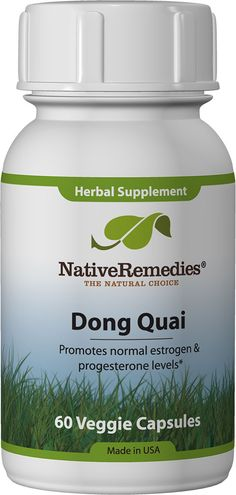 Dong Quai - Herbal remedy to support hormonal balance and help keep estrogen & progesterone levels within the normal range