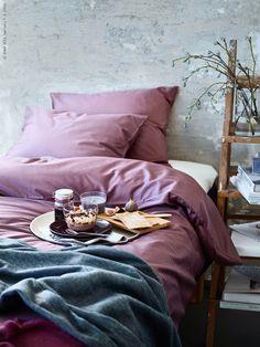 ikeasverige:  IKEA Sverige – Vinterfrukost i lila och grått