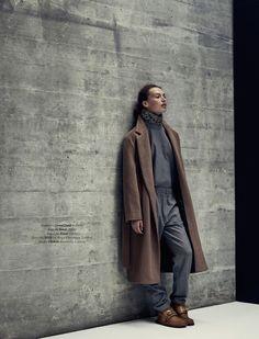 visual optimism; fashion editorials, shows, campaigns & more!: hot dog: mona johannesson by henrik bulow for eurowoman november 2014
