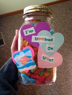 DIY gift for boyfriend. im a sucker for puns... lol