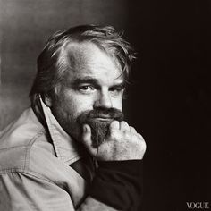 Photographed By Irving Penn For Vogue, January 2003 / The Master: Remembering Philip Seymour Hoffman