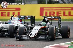 """Pérez: """"Quería mantener la 3ª posición, pero lo inteligente fue elegir las batallas a luchar""""  #F1 #JapaneseGP"""