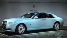 Rolls-Royce unveils Ghost Extended Wheelbase Art Deco Edition image