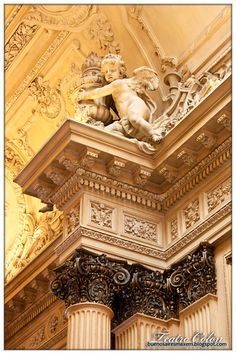 Detail of the Salon Dorado (Golden Hall) - Teatro Colón, Buenos Aires Montevideo, Art Nouveau Arquitectura, Argentina South America, Paradise Found, Classic House, Art And Architecture, Opera House, Castle, Around The Worlds