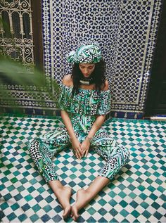 Dreaming of a trip to Morocco in this outfit.