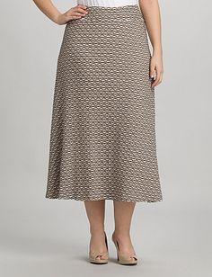lindo estilo de faldas