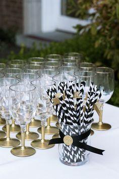 Elegant White and Gold Mansion Wedding - MODwedding