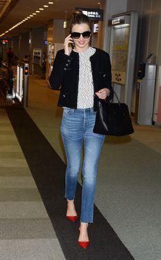 Miranda Kerr - Airport chic