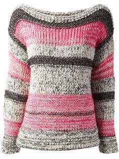 ISABEL MARANT ÉTOILE - striped sweater Estilo Femenino 81396f3b352