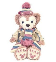 2013-season-Sherry-Mae-Costume-Set-knit-hat-scarf-mittens-coat-Tokyo-Disney-Sea-Limited-japan-import-0
