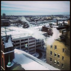 Looking over Providence #providence #ri 2.16.2014