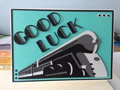 Art Deco Cricut cartridge card idea by Nicky M