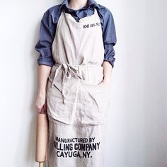 Vintage work apron. | aprons, pinafores and smocks