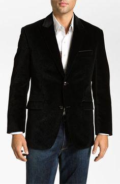 Robert Graham 'Glacis' Velvet Blazer available at #Nordstrom