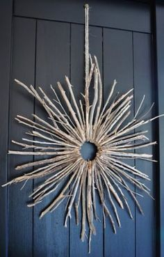 20 Great things to do with your Christmas tree!!! Twig Wreath