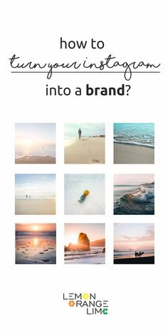 Turn your Instagram into a brand! Step by step guide how t start earning on Instagram. Instagram Tips, Instagram Strategies, Instagram Themes, Instagram Layout Ideas on lemonorangelime.com