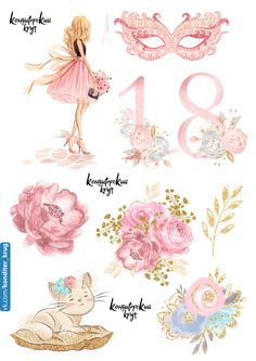 Baby Painting, Baby Clip Art, Drawings Of Friends, Beautiful Sketches, Barbie Birthday, Vintage Botanical Prints, Happy Birthday Messages, Paper Cupcake, Christmas Cards To Make