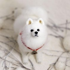 Puppy Samoyed gift for her gift for him cute lover kawaii