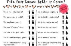 unique game for wedding shower or engagement party or bridal shower. GroopDealz | Bridal Shower/Bachelorette Game - Download