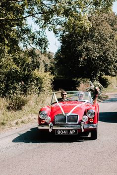 Zoe and Nick drive off together after getting married. On their way to their garden reception party full of fun and games. To see more click on the link