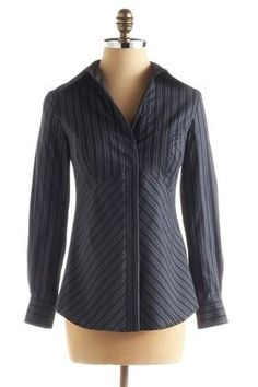 """Website with professional clothes specifically designed for busty girls. A little pricey but could be worth it for a """"button-down"""" shirt that actually fits!"""