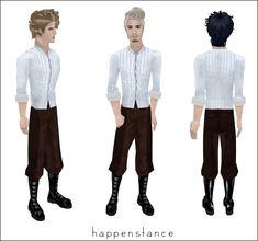 Sims 1, Harem Pants, Fashion, Moda, Harem Trousers, Fashion Styles, Harlem Pants, Fashion Illustrations