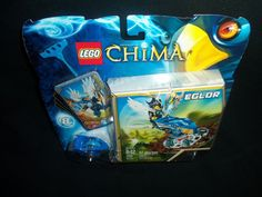 Lego 70105 97 Pcs Legends of Chima Eglor Nest Drive with cards and More!!! #LEGO