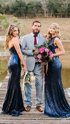 Bridesmaid Dresses, Wedding Dresses, Groom, Bright, Color, Fashion, Bridesmade Dresses, Bride Dresses, Moda