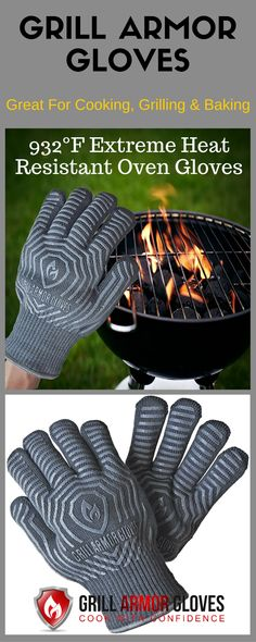 Save 50% Off on These Premium Oven Gloves on Amazon! From 11/10 to 11/20 2015 Coupon Code: GAGOFF50 http://www.amazon.com/Grill-Armor-Extreme-Resistant-Gloves/dp/B00ZORPCGG Make Grill Armor Gloves your buddy when cooking, baking and grilling. Perfect as o