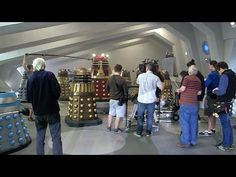 Voice of the Daleks: Nicholas Briggs - The Witch's Familiar - Doctor Who Extra - YouTube