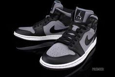 NIKE AIR JORDAN1 PHAT COOL GREY/BLACK-WHITE sneaker