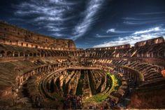 the colosseum , Rome