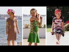 pattydoo Videotutorial | Kinderkleider aus Jersey selber nähen