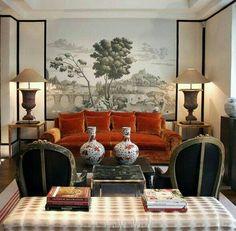 Interior And Exterior, Interior Design, Parisian Apartment, Classic Interior, Apartments, Living Room, Architecture, Grey, House