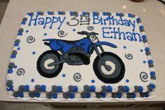 Dirt bike birthday decorations motocross cake 59 Ideas for 2019 Motocross Cake, Motorcycle Birthday Cakes, Dirt Bike Birthday, Motorcycle Party, Bike Birthday Parties, 5th Birthday Party Ideas, Birthday Decorations, 3rd Birthday, Kid Parties