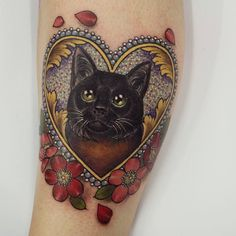 If you would like to remove your tattoo, make certain you select a trained professional. This kind of tattoo is supposed to be a favorite design. In v... #CatTattoo