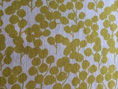 Hokkoh Fabrics Berries Yellow - Baumwoll Canvas  von Twinkling Star auf DaWanda.com