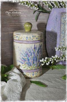 oatmeal box, knob and inspiration...