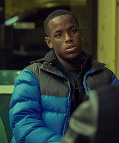 If you want to customize yourself as Slim Fit Jamie then you should buy this Blue Puffer Top Boy Jamie Jacket with a reasonable price . Cute Black Guys, Black Boys, Cute Guys, Blue Puffer Jacket, Puffer Jackets, Dave Rapper, X Movies, Coloring Pages For Boys, Cool Jackets