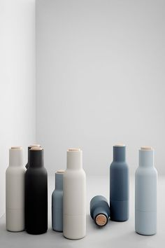 bottle mills | designednorm architects for menu. | kitchen