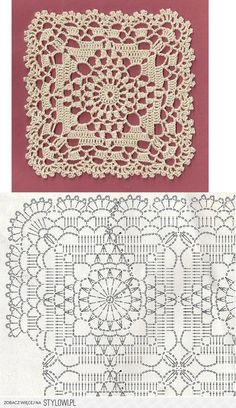 Crochet Lace Motif
