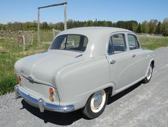 1955 Austin A50 Cambridge Rear