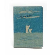 Cuaderno Vintage Osos - Lo podéis ver aquí: http://www.lovly.es/papeleria/48-cuaderno-osos.html