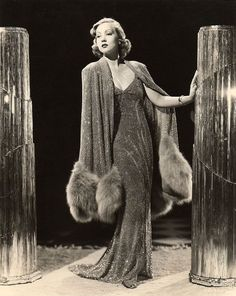 Ann Sothern 1936 ~ Just had to put this in it's so beautiful. Not sure I have seen a dress today that would compare to this one